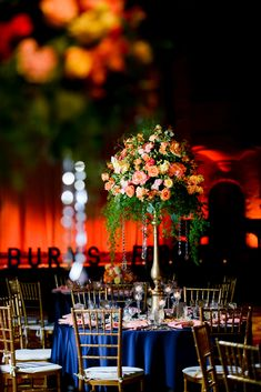 Sunset wedding, lighting, ombre design #boldlychicevents