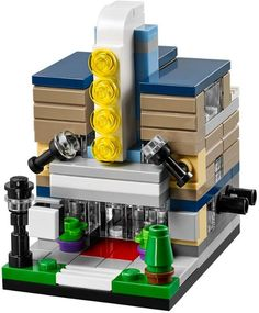 Micro LEGO Movie Theater cinema