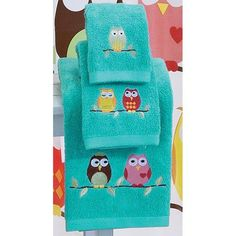 Owl Towel Collection