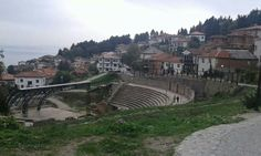 Antique theatre in Ohrid