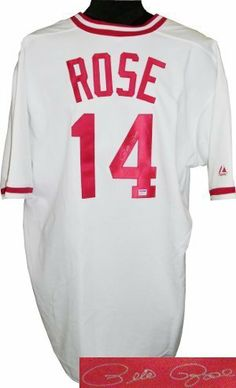"""Pete Rose signed Cincinnati Reds White Cooperstown Jersey- PSA Hologram . $319.77. Pete Rose won three World Series rings, three batting titles, one Most Valuable Player Award, two Gold Gloves, the Rookie of the Year Award, and made 17 All-Star appearances at an unequaled five different positions (2B, LF, RF, 3B, and 1B). Rose's nickname, Charlie Hustle, was given to him for his play beyond the """"call of duty"""" while on the field. Pete Rose has hand autographed this ..."""