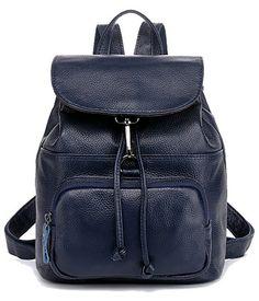 Comprar mochila de viaje pequeño de cuero para niñas hermosas bolsas de bandolera barato mujeres de moda   Venta: €60.58
