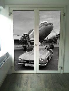 Ontwerp deurdecoratie wachtruimte