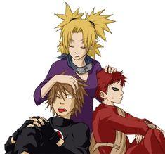 Sand Siblings - Naruto