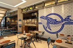 Fish & Co Restaurant by Metaphor Interior at Puri Indah Mall, Jakarta - Indonesia