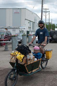 Cetma cargo bike in Calgary. http://www.arcreactions.com/catalogue-design-print/ http://calgary.isgreen.ca/