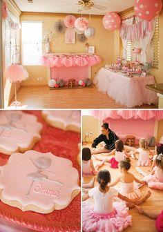 """Adorable """"Tiny Dancer"""" Ballerina Birthday Party"""