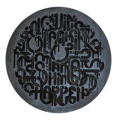 Clement de bruin: quit slackin - laser engraved