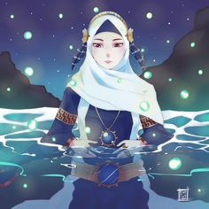 sea hijab by mastoy