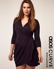 ASOS CURVE Exclusive Wrap Dress