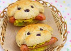 dog sandwiches, cute.