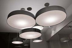 mod. CIRCLE serie di #lampade a sospensione per interno.