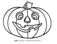 printable for halloween - pumpkin