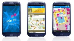 mobilce apps: London 2012 Olympics - Schedule, Results, Medals, Tickets, Venues -- Join in, Torch Relay, Olympic mobile game app