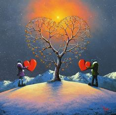'Tree of Love' ~ by David Renshaw Art