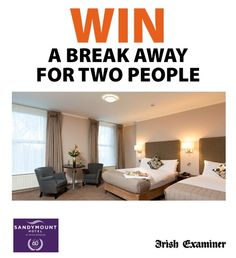 Win a Break Away for two People. Answer the question along with your details to be in with a chance of wining.