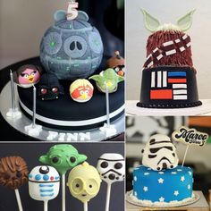 Amazing Star Wars Cakes for Fans of All Ages