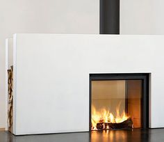 Stuv 21/75 Double-Face Fitted Stove
