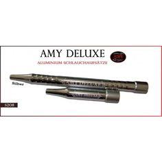 Amy Deluxe Aluminium-Griffstück und Endstück 2.0 silber von Amy Shishas, s208silber