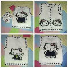 #baby #knitting #hellokitty
