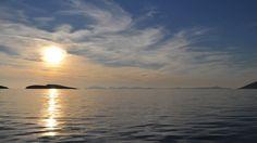 Dodecanese - Lipsi - Hellenica - Découvrez les iles grecques et organisez votre voyage Lipsy, Celestial, Sunset, Outdoor, Small Island, Vacation, Sunsets, Outdoors, Outdoor Living