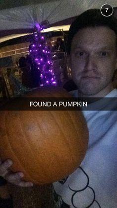 Scott and pumpkin of his life