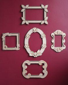 DIY: Bilderrahmen aus Verpackungsmaterial   ars vera(e)