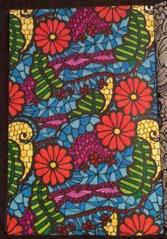 """Kleurplaat uit """"het vierde enige echte kleurboek voor volwassenen"""" door Aurélie."""