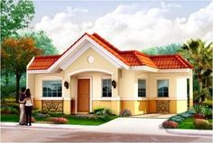 modelo de casas pequeñas y bonitas bellos Bungalow house design Philippines house design Small house design