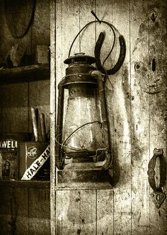 Lantern and Horseshoe - Sepia by Brian Wallace Vintage Lanterns, Maritime Museum, Chesapeake Bay, Oil Lamps, Country Life, Exhibit, Wall Sconces, Wall Lights, Draw