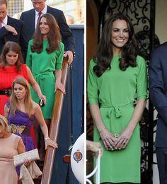 FASHION PRODUCER: Só a Kate que pode repetir roupas?  Princesa Kate