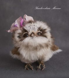owl Dunya by By Yamkovskaia Marina | Bear Pile