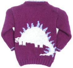 Dinosaur Knitting Patterns Free, Free Knitting, Knitting Ideas, Dinosaur Jumper, Baby Dino, Fashion Portfolio, Double Knitting, Knitting Yarn, 6 Years