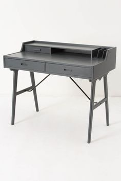 """Great desk! The """"Odion"""" - - - I kinda like it in this grey too.... Paired with a cherry red chair - - or a really bright yellow one."""
