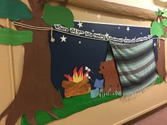 Camping Classroom Decoration : Camping time! decorate your classroom! school education things