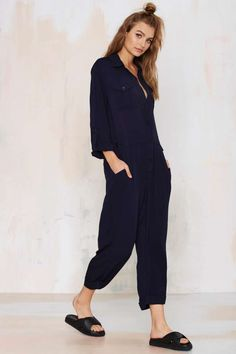 Sky's the Limit Utility Jumpsuit - Rompers + Jumpsuits