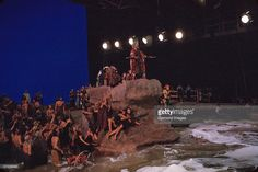 The Ten Commandments..behind the scenes, parting of the Red Sea