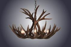Shop the Mule/Deer Antler Unique / Statement Wagon Wheel Chandelier at Perigold, home to the design world's best furnishings for every style and space. Plus, enjoy free delivery on most items.