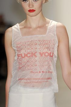 High fashion shopping bag