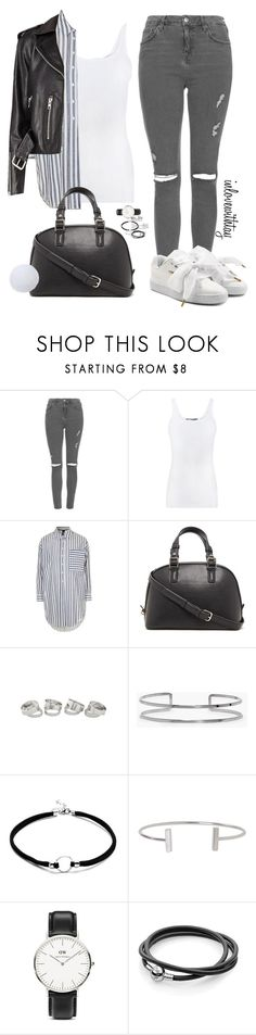 """""""15❤"""" by inlovewithtay on Polyvore featuring mode, Topshop, Vince, Forever 21, Boohoo, Humble Chic, Daniel Wellington et Puma"""