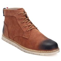 Fashion Pu Leather Ankle Male Boots,Cheap Trendy on Sale!