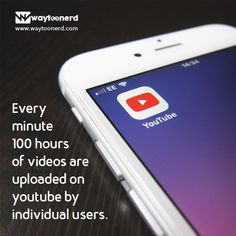 Waytoonerd – Where technology is unraveled Daily Facts, Fun Facts, Youtube Facts, Youtubers Life, Did You Know Facts, Youtube Money, Marketing Tools, New Technology, Tech News