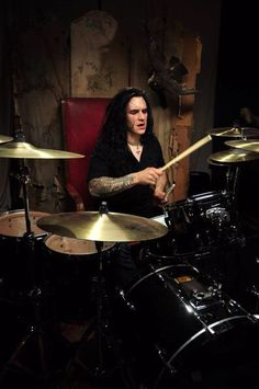 Adrian Erlandsson- At The Gates, Vallenfyre, Paradise Lost, ex-Cradle Of Filth
