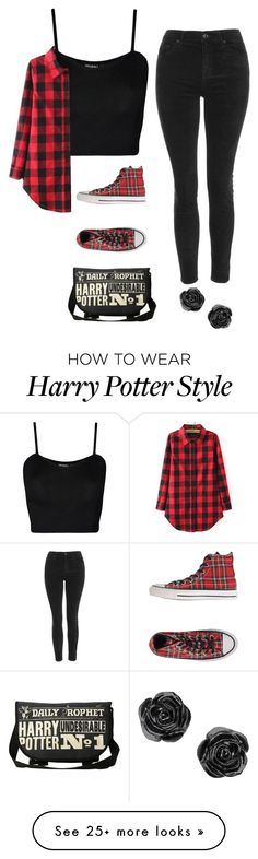 """I Never Knew You Loved Me"" by brokenpinkypromises on Polyvore featuring Topshop, Converse and WearAll"