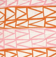 pattern orange and pinks
