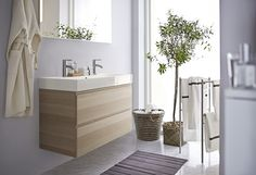 GODMORGON wastafelkast | #IKEA #badkamer #opberger