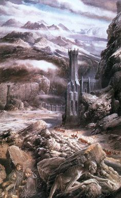 The Black Gate is Closed - Alan Lee