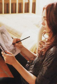Lily Collins as Clary Fray in The Mortal Instruments: City of Bones
