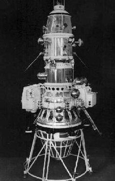 The USSR's Luna 10 became the first craft to orbit the moon in 1966. Yet another monumental Soviet achievement, this time demonstrating that the USSR was on the brink of sending a man to the moon.