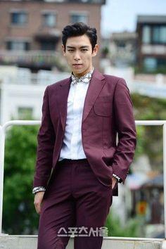 TOP (Choi Seung Hyun) ♕ #BIGBANG // Interview Photo For 'Tazza 2'